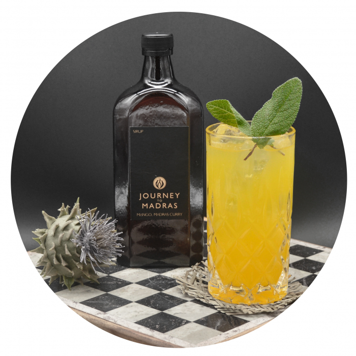Mango-Curry Limo